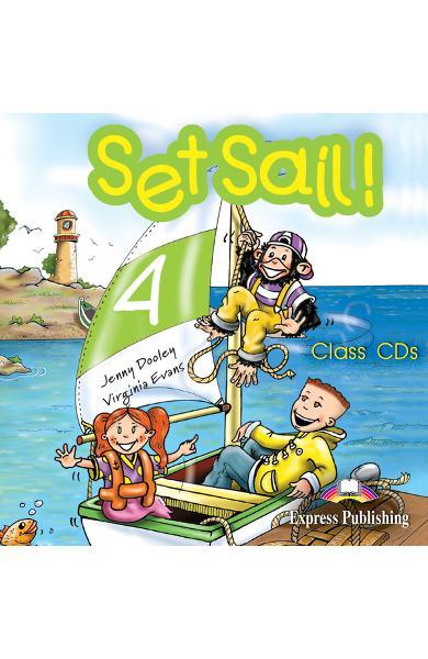 Curs limba engleză Set Sail 4 Audio CD (set 2 CD)