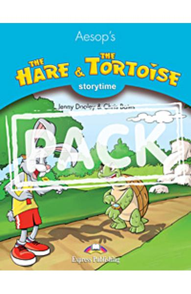 Literatura adaptata pt. copii The Hare and The Tortoise - set cu multi-rom (carte + multi-rom) 978-1-84974-056-2