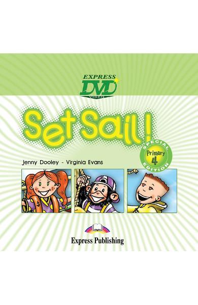 Curs limba engleză Set Sail 4 DVD