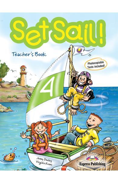 Curs limba engleză Set Sail 4 Manualul profesorului