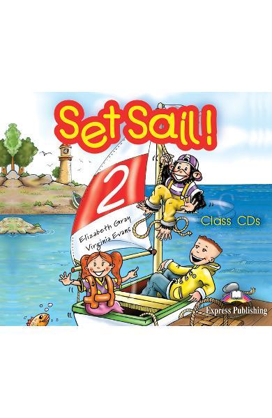 Curs limba engleză Set Sail 2 Audio CD (set 3 CD)