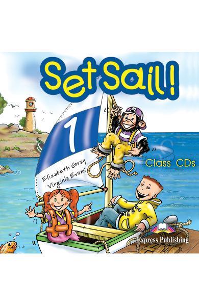 Curs limba engleză Set Sail 1 Audio CD (set 2 CD)