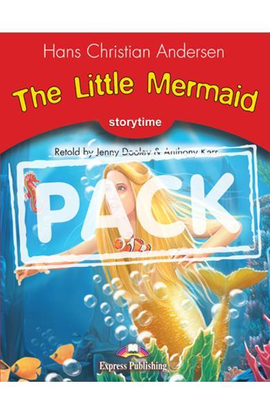 Literatura adaptata pt. copii The Little Mermaid - set cu multi-rom (carte + multi-rom ) 978-1-84974-089-0