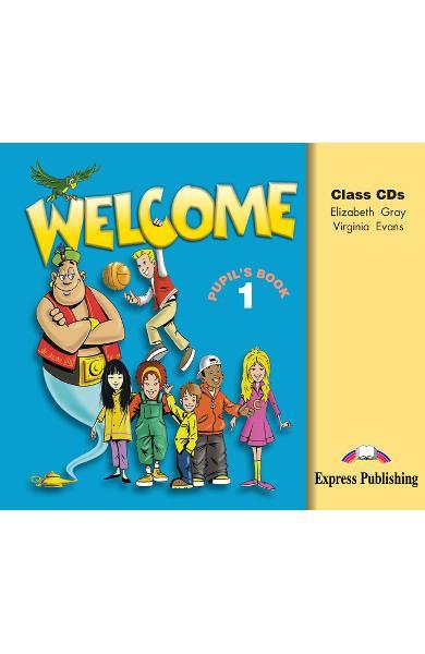 Curs limba engleză Welcome 1 Audio CD (set 3 CD) 978-1-903128-04-6