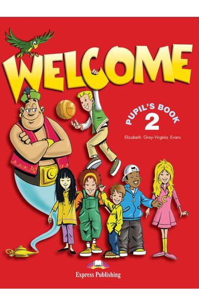 Curs limba engleză Welcome 2 Manualul elevului 978-1-903128-19-0