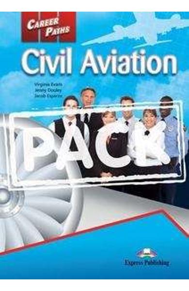Curs limba engleză Career Paths Civil Aviation - Pachetul elevului