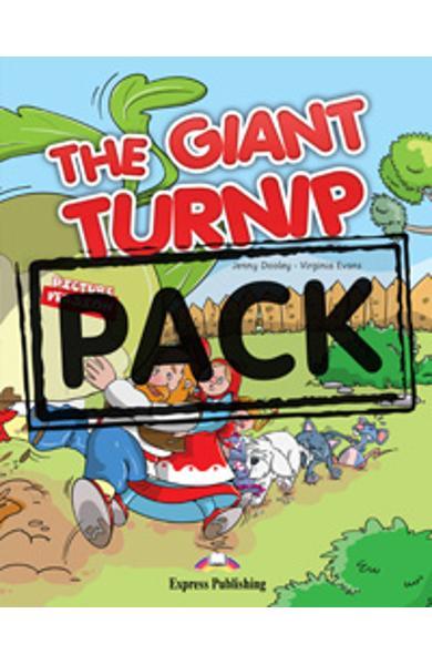 Literatura adaptata The Giant Turnip reader cu multi-rom 978-1-78098-861-0