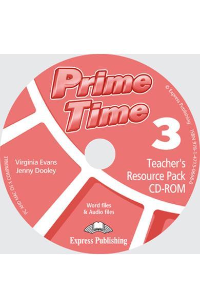Curs limba engleză Prime Time 3 Material adiţional pentru profesor CD-ROM