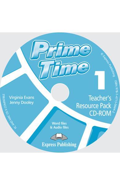 Curs limba engleză Prime Time 1 Material adiţional pentru profesor CD-ROM