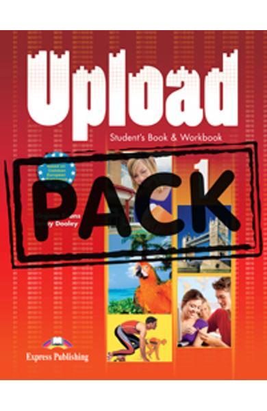 Curs limba engleza Upload 1 Pachetul elevului ( manual + caiet + ie-Book )