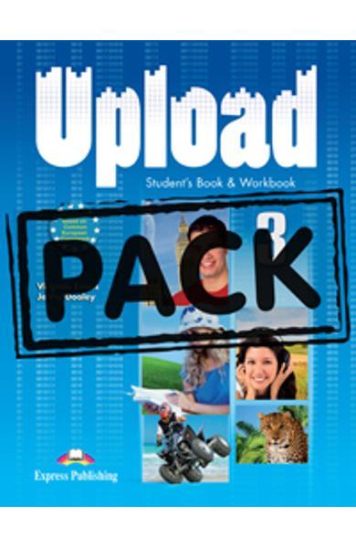 Curs limba engleza Upload 3 Pachetul elevului ( manual + caiet + ie-Book )