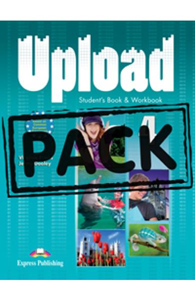 Curs limba engleza Upload 4 Pachetul elevului ( manual + caiet + ie-Book )