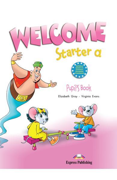 Curs limba engleză Welcome Starter A Manualul elevului 978-1-84558-253-1