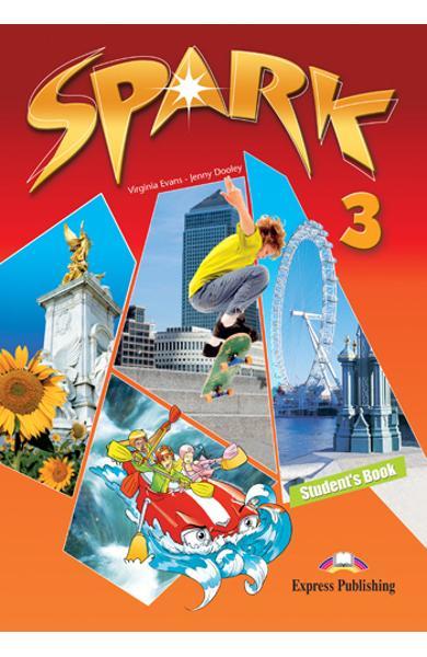 Curs limba engleză Spark 3 Monstertrackers Manualul elevului 978-1-84974-657-1