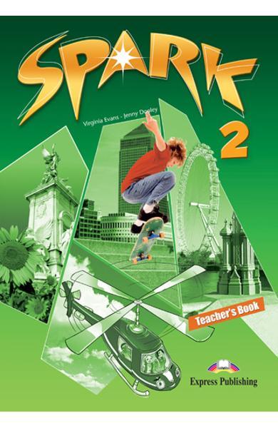 Curs limba engleza Spark 2 Monstertrackers Manualul profesorului 978-1-84974-684-7