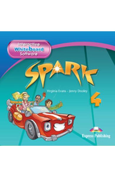 Curs limba engleza Spark 4 Monstertrackers Software ptr. tabla magnetica 978-0-85777-415-6