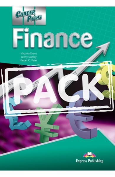 Curs limba engleză Career Paths Finance - Pachetul elevului