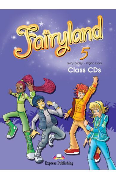 Curs limba engleză Fairyland 5 Audio CD (set 3 CD)