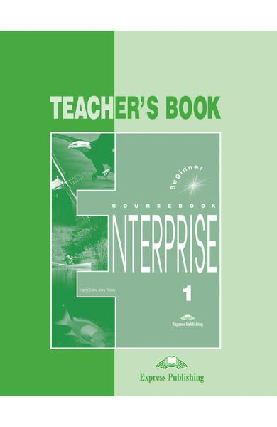 Curs limba engleză Enterprise 1 Manualul profesorului 978-1-84216-090-9