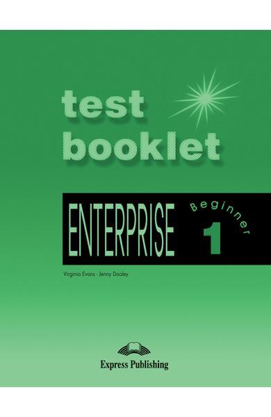 Curs limba engleză Enterprise 1 Teste 978-1-84216-675-8