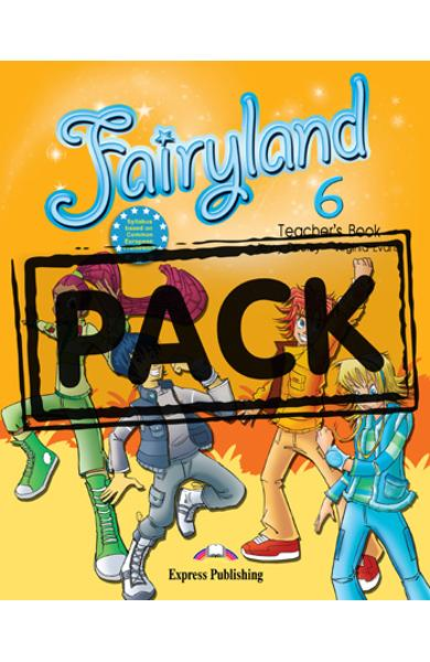 Curs limba engleză Fairyland 6 Manualul profesorului cu postere