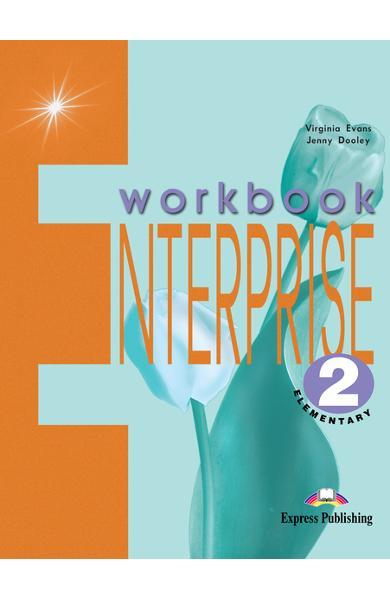 Curs limba engleză Enterprise 2 Caietul elevului 978-1-84216-107-4