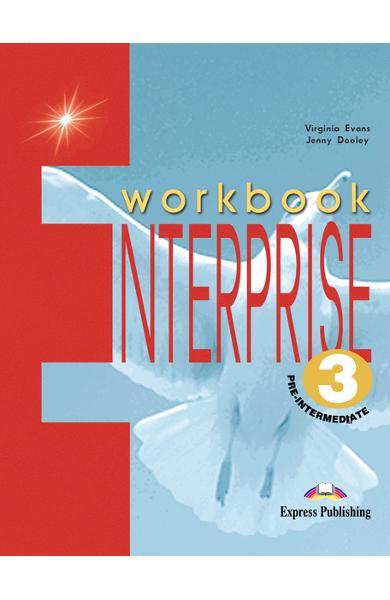 Curs limba engleză Enterprise 3 Caietul elevului 978-1-84216-813-4