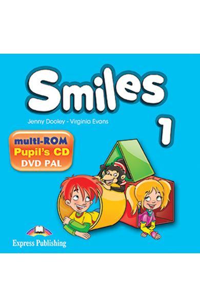 Curs Lb. Engleza Smiles 1 Multi-Rom