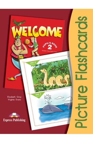 Curs limba engleza Welcome 2 Flashcards set 3 978-1-84466-093-3