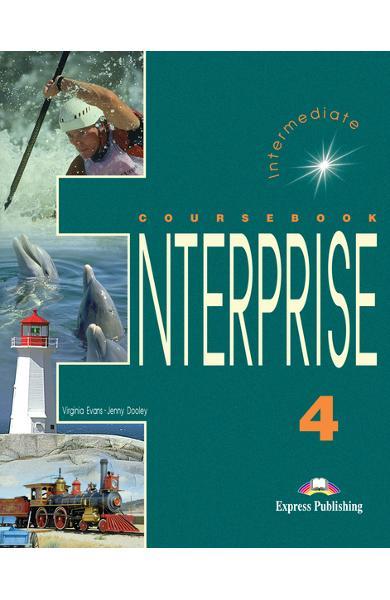 Curs limba engleză Enterprise 4 Manualul elevului 978-1-84216-821-9