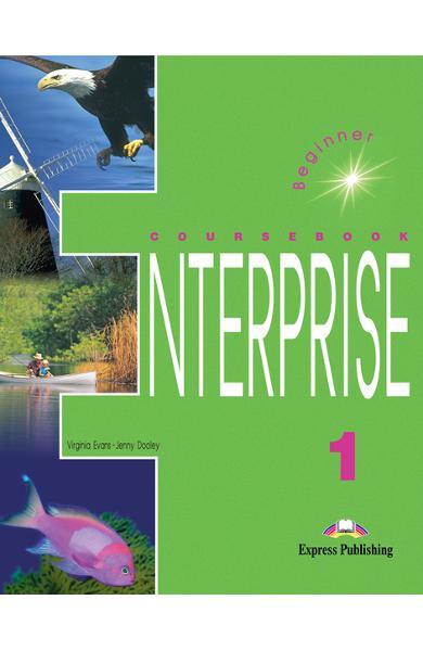 Curs limba engleză Enterprise 1 Manualul elevului 978-1-84216-089-3