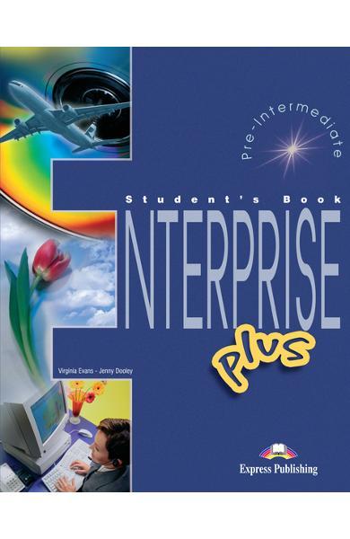 Curs limba engleză Enterprise Plus Manualul elevului 978-1-84325-812-4