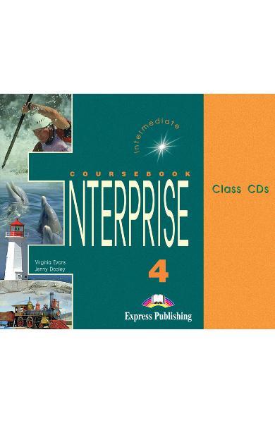 Curs limba engleză Enterprise 4 Audio CD (set 3 CD) 978-1-84216-824-0