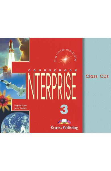Curs limba engleză Enterprise 3 Audio CD (set 3 CD) 978-1-84216-814-1