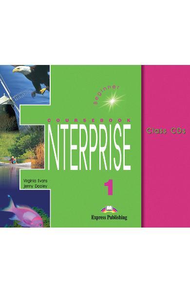 Curs limba engleză Enterprise 1 Audio CD (set 3 CD) 978-1-84216-096-1