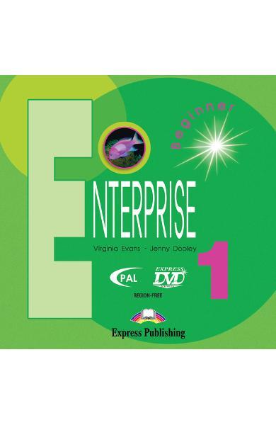 Curs limba engleză Enterprise 1 DVD 978-1-84558-032-2