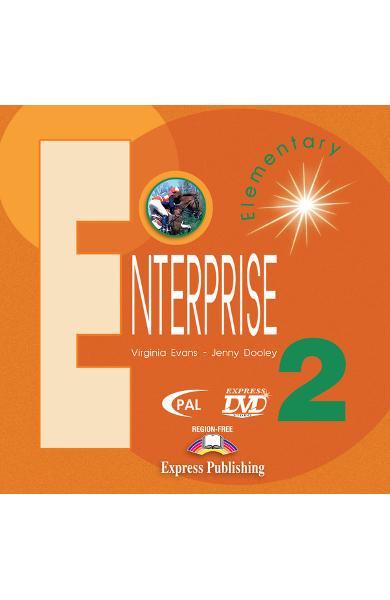 Curs limba engleză Enterprise 2 DVD 978-1-84558-033-9