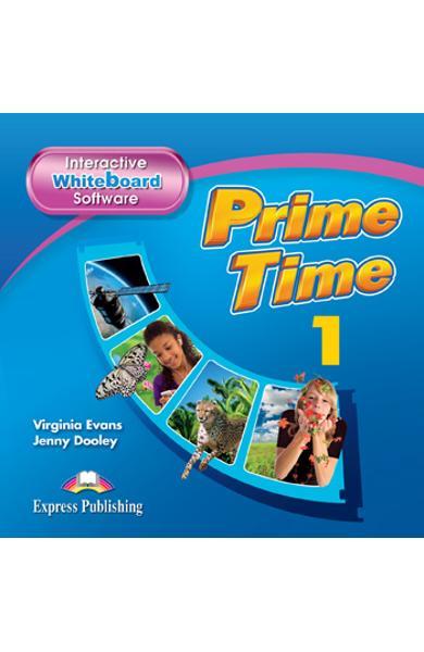 Curs Lb. Engleza Prime Time 1 Software pentru Tabla Magnetica Interactiva 978-1-78098-995-2