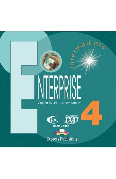 Curs limba engleză Enterprise 4 DVD 978-1-84558-036-0