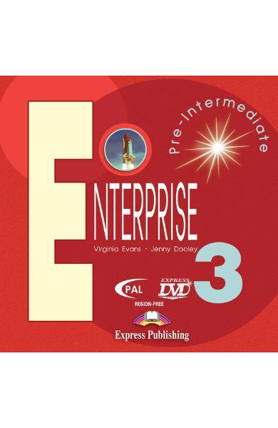 Curs limba engleză Enterprise 3 DVD 978-1-84558-034-6