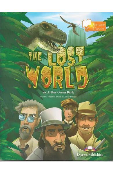 Literatură adaptată pt. copii The Lost World cu CD