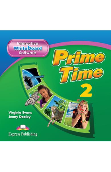 Curs Lb. Engleza Prime Time 2 Software pentru Tabla Magnetica Interactiva 978-1-78098-997-6