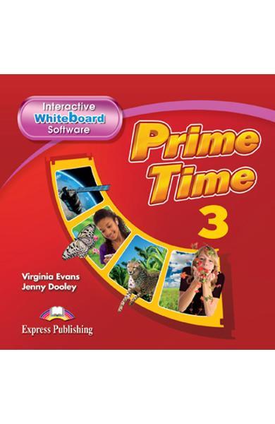 Curs Lb. Engleza Prime Time 3 Soft pentru Tabla Magnetica Interactiva 978-1-78098-999-0