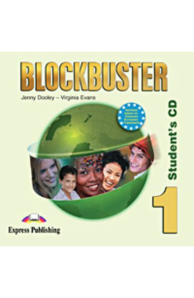 Curs limba engleză Blockbuster 1 Audio CD elev