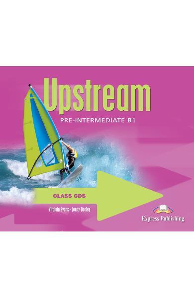 Curs limba engleză Upstream Pre-Intermediate Audio CD (set 4 CD)