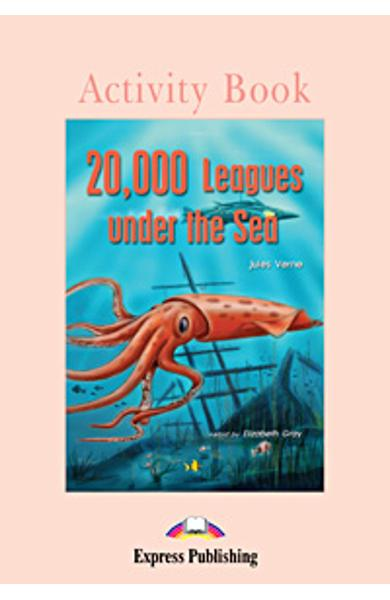 Literatura adaptata pt. copii 20.000 Leagues under the Sea - caiet de activitati 978-1-84325-155-2