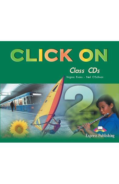 Curs limba engleză Click On 2 Audio CD (set 3 CD) 978-1-84216-709-0