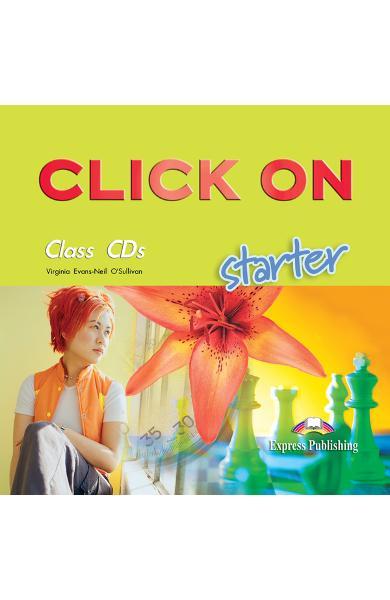 Curs limba engleză Click On Starter Audio CD (set 2 CD-uri) 978-1-84325-660-1