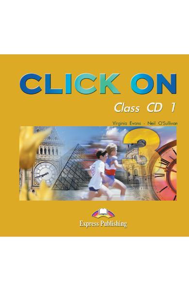Curs limba engleză Click On 3 Audio CD (set 5 CD) 978-1-84216-731-1