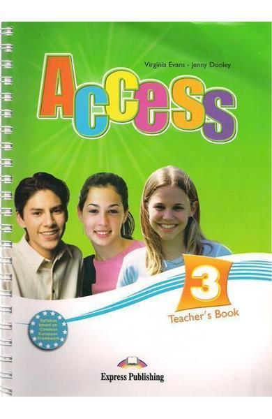 Curs limba engleză Access 3 Manualul profesorului